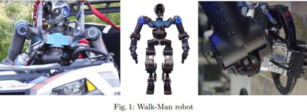 Primitive based planning with application to the Walk-Man humanoid robot